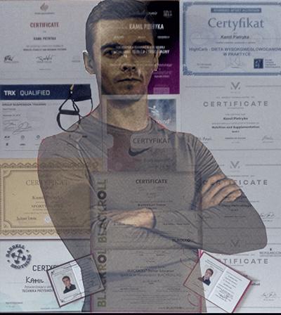 Trener personalny w Rzeszowie - Kamil Pietryka