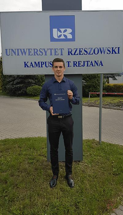 Fizjotrener Rzeszów - Kamil Pietryka
